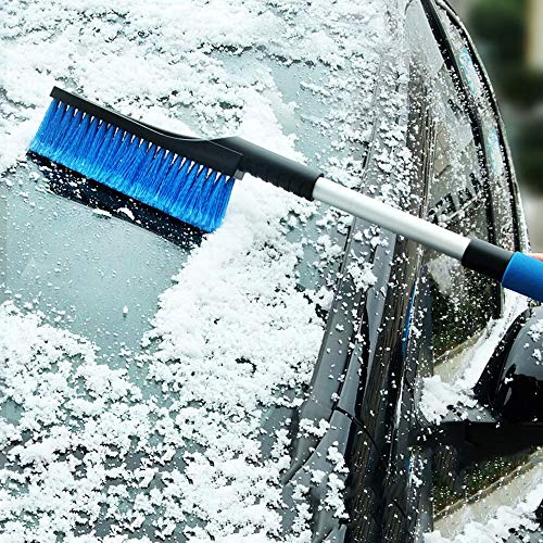 Lowest Prices! AA-SS Ice Scraper for Car Windscreen Scraper with Non-Slip Comfort Soft Grip Snow Rem...