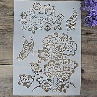 Ofício DIY Letra Do Alfabeto Stencils Para Pintura de Paredes de Camadas Scrapbooking Stamping Stamp Álbum