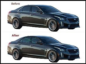 2014-2019 Cadillac CTS Sedan 6Pc Chrome Pillar Post Stainless Steel Trim Door