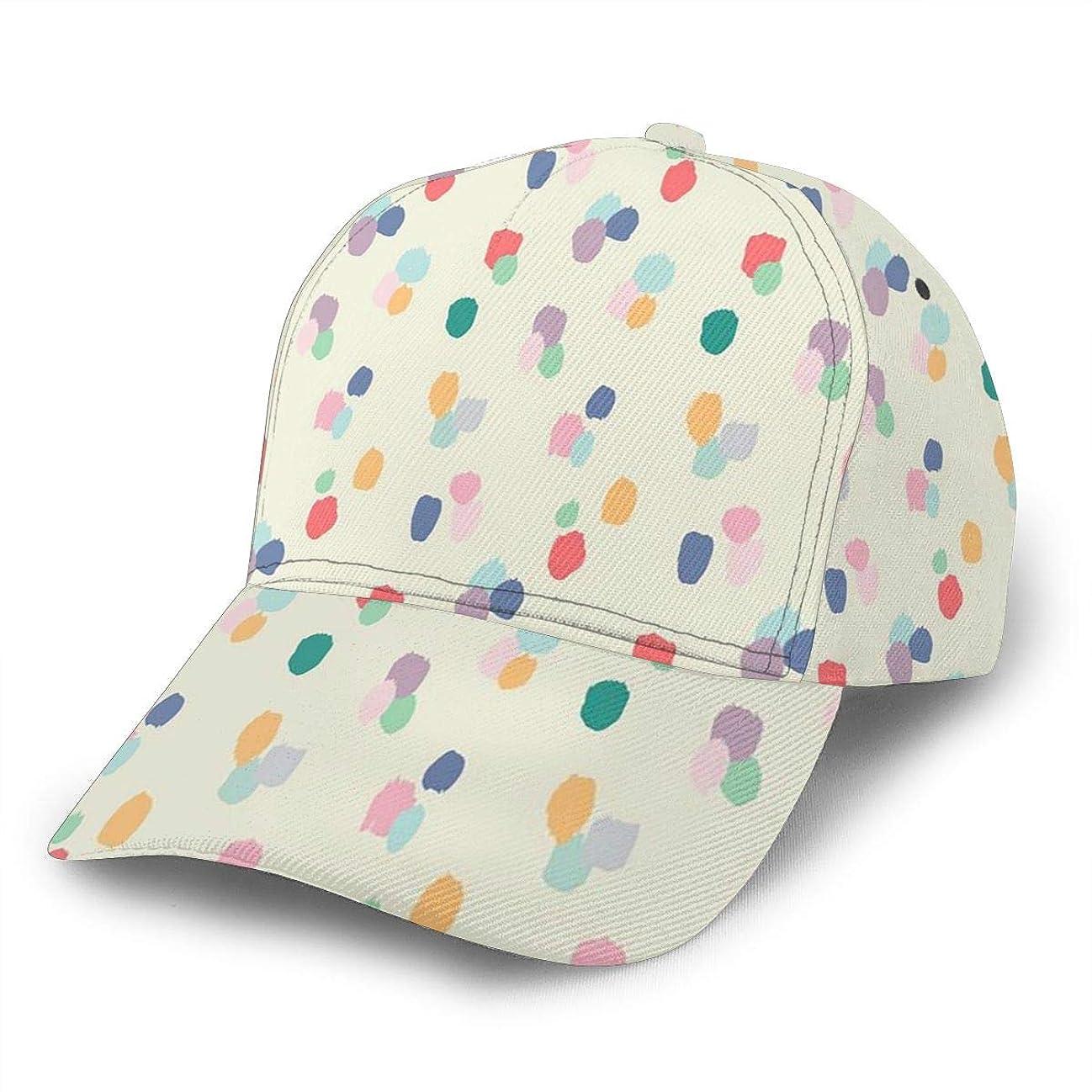 伝統侵入カトリック教徒カラフルなポイント 帽子 人気 キャップ 湾曲したエッジ 野球帽 日焼け止め ピークキャップ ハンチング帽 おしゃれ アウトドア スポーツ ソフトボールキャップ 調整可能 男女兼用