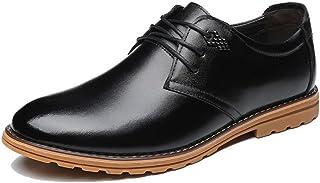 HHUIカビジネスシューズ メンズ 革靴 本革 リーガル 靴 レースアップ オールシーズン 軽量 透湿 防滑