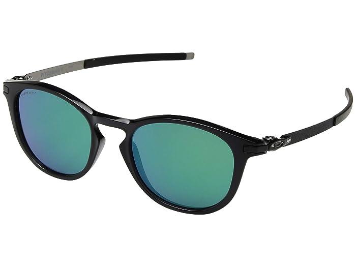 Oakley Pitchman R (Black Ink/Prizm Jade) Sport Sunglasses