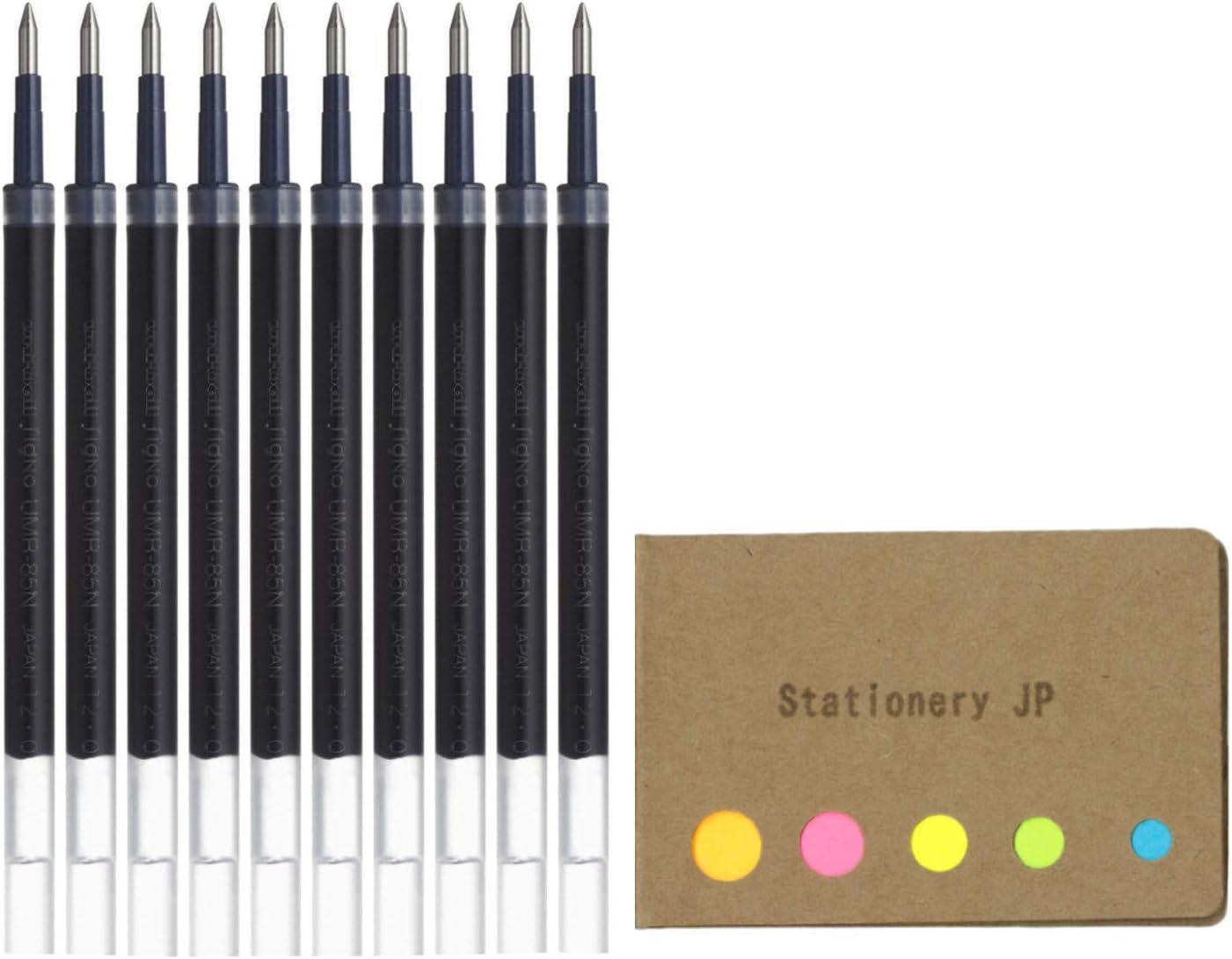 Uni-ball UMR-80 Refills for Gel Ink Black online Sacramento Mall shopping Pen 1.0mm Ballpoint