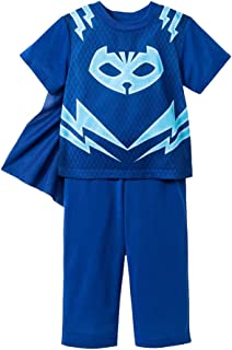 PJMASKS PJ Masks Little Boys' Two-Piece Blue Caped Pajama Pant Set