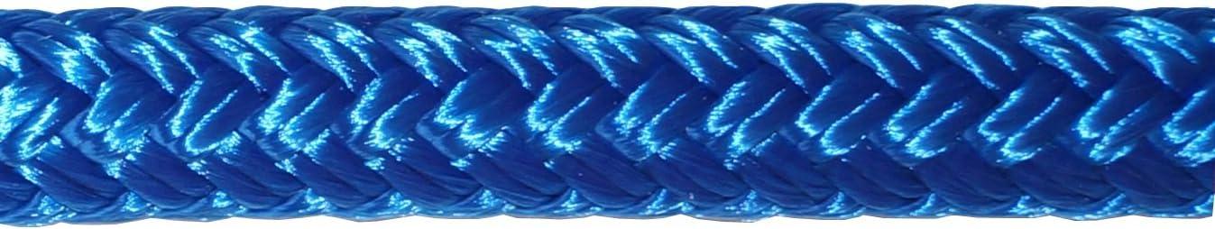 Water Resistant Coating Titan Double Braid Nylon Dockline Pre-Spliced