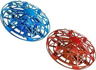 CLISPEED 2 Pcs Mini Drone Ufo Controlado Manualmente Brinquedo Bola Voadora Com Sensor Automático de Aeronaves Brinquedo P...