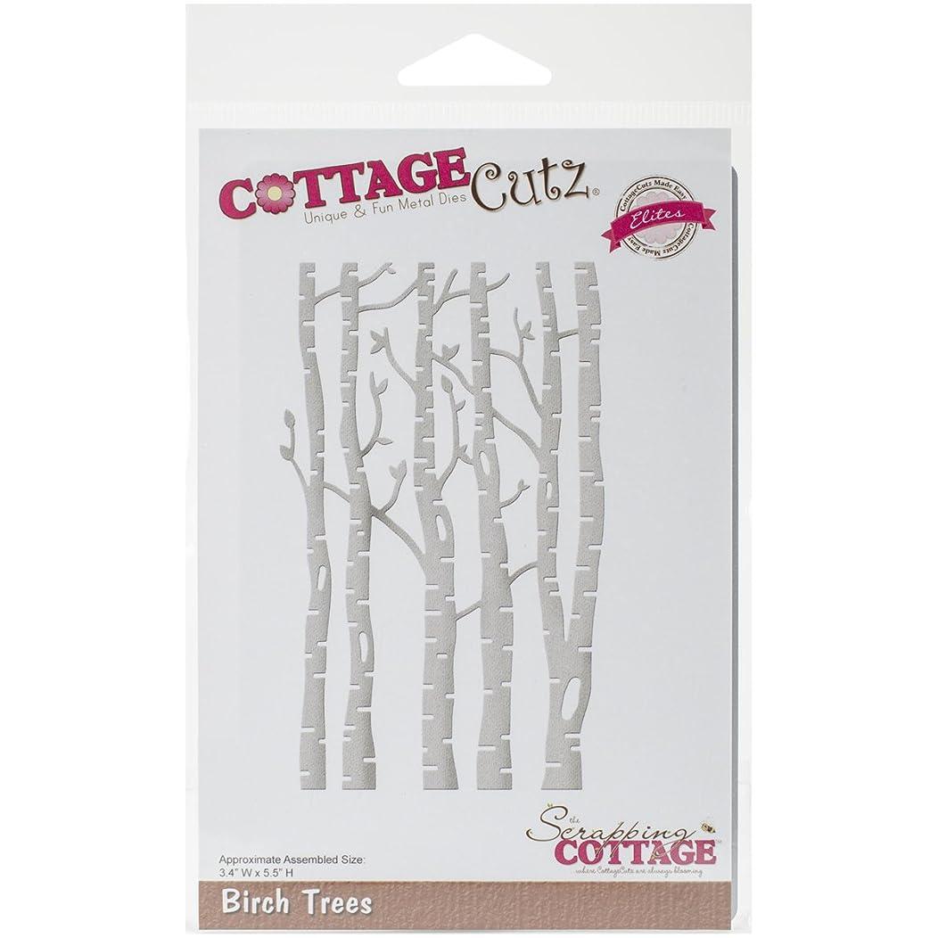CottageCutz CCE208 Birch Trees Elites Die, 3.4 by 5.5