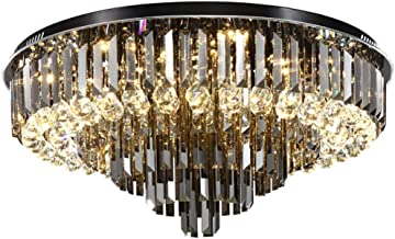 Ceiling Lighting Crystal Lamp Simple Modern Round Hall Lamp Living Room Decoration Lamp Atmospheric Led Ceiling Lamp Bedro...