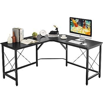 Ofm Essentials Collection 60 Metal Frame L Shaped Wenge Ess 1021 Blk Wen Corner Computer Desk Home Office Desks