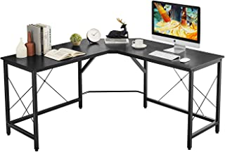 """Mr IRONSTONE L-Shaped Desk 59"""" Computer Corner Desk, Home Gaming Desk, Office Writing..."""