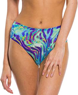 Kiniki Coral Tan Through High Waisted Bikini Brief
