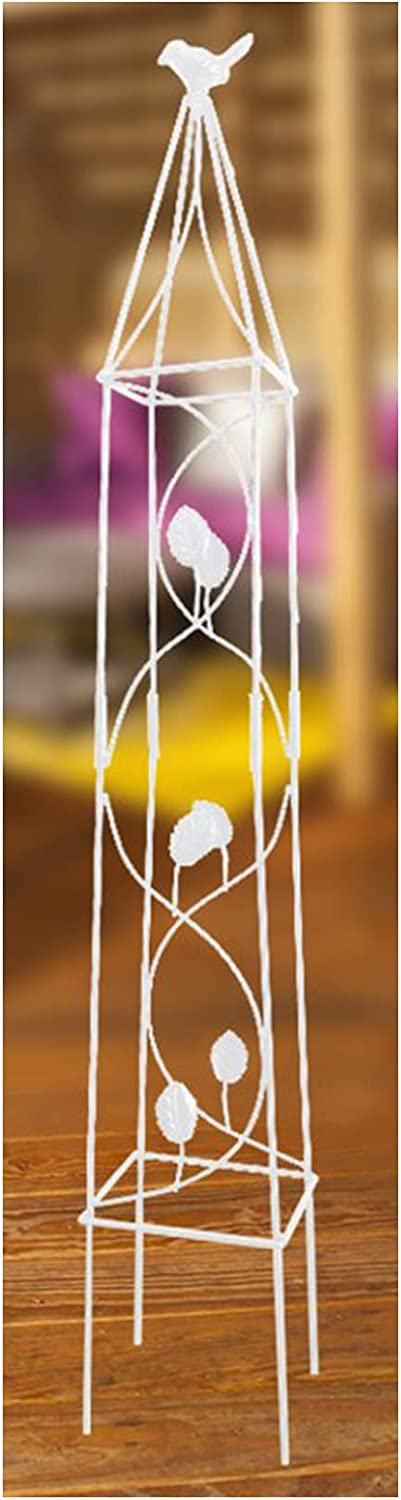 LOOZY Garden Plant Support Max 81% OFF O Obelisk Metal Low price Cages