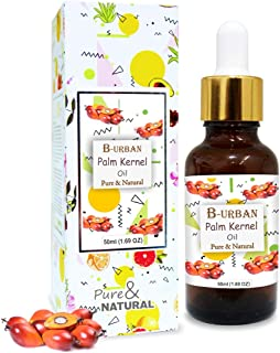 B-URBAN Palm Kernel Oil 100% Natural Pure Undiluted Uncut Carrier Oil 50ml
