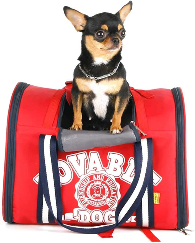 DYYTR Breathable Mesh Dog Backpack,Cat Shoulder Pet Bag Durable Cycling Outdoor Sports Dog Backpack Adjustable Shoulder Strap Suitable For Puppy And Kitten