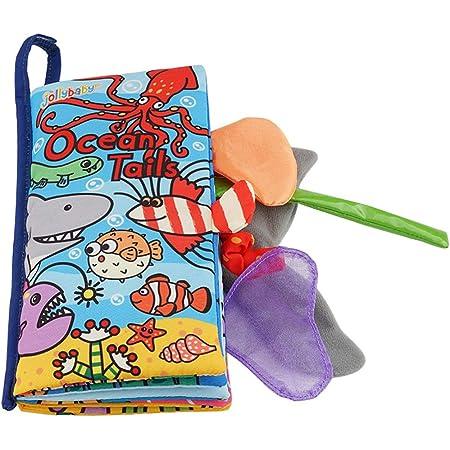 Sipliv bambino soft book tridimensionale animale panno di stoffa libri educazione precoce giocattoli attività panno libro per bambini regalo perfetto - oceano animale