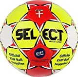 SELECT Maxi Grip Ballon de Handball 3 Jaune/Rouge/Blanc.