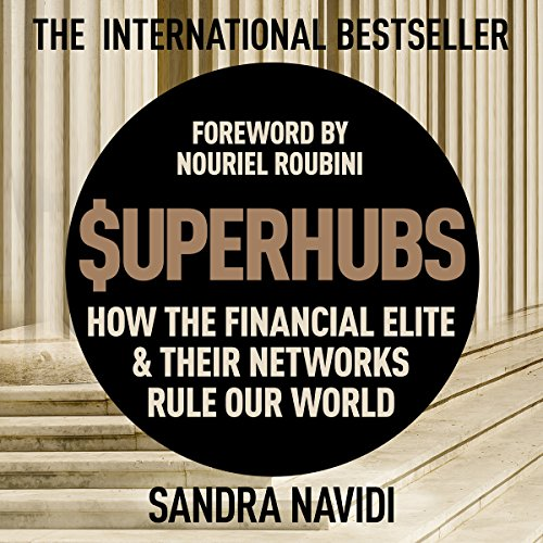Superhubs audiobook cover art