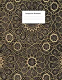 Composition Notebook: Wide Ruled: For Home, Office, Back To School, College, University: Albert Racinet Arabian Pattern Vintage Cover