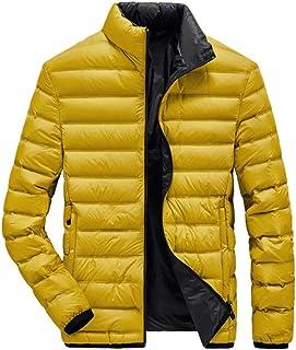 WYH Piumino Uomo Piumino Uomo Down Piumino Inverno Vestiti Caldi Abbigliamento Leggero Cappotto d'inverno Capispalla per A...