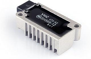 Artudatech - Rectificador regulador de enchufe macho de 12 V para Yamaha XT 225 250 600 TW 125 200 225 XJ 400 600