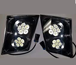 LED Volvo VN VNL Bumper Fog Light Lamp SET/PAIR Truck 2003 & Newer 630 670 730 780