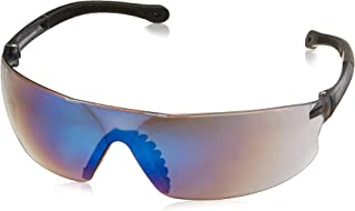 Radians Blue Mirror Safety Glasses, Scratch-Resistant, Wraparound