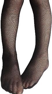 Qiuxiaoaa Calcetines de Malla para niños Modelos de Primavera y Verano Medias de Malla Calcetines de Malla Agujero de niñas Denim Pantimedias Medias Negras Pequeñas Redes