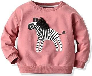 Baby Girl Sweater,Tronet Toddler Kids Baby Boys Sweatshirt Cartoon Animal Zebra Shirt Tops Tee Clothes