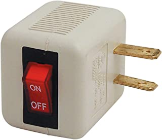 Plug in Cord Switch with Safety Reminder Light