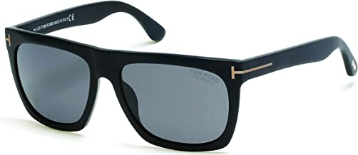 Sunglasses Tom Ford FT 0513 02D Matte Black/Smoke Gradient