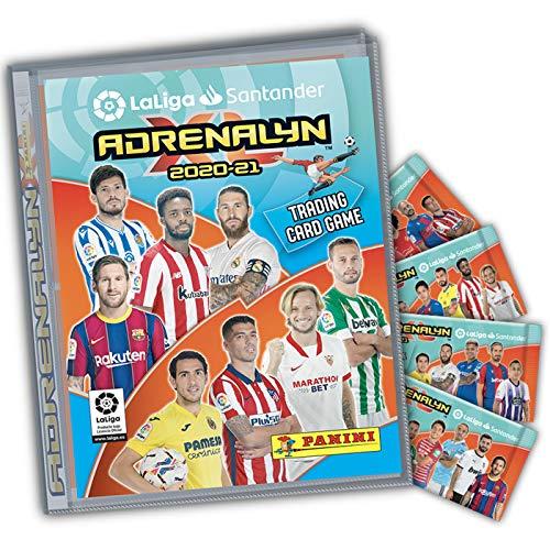 ADRENALYN 2020 / 2021 Mega Starter Pack + Guía Oficial Adrenalyn 2020-21, 3 Cards exclusivas de EDICIÓN LIMITADA