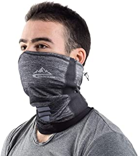 Ideal for Fishing Hiking Running Cycling HJHY Reusable Neck Gaiter Face Covering Scarf Summer Cool Breathable Lightweight Face Cover Bandana Scarf
