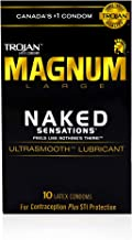 Trojan Magnum Condom Naked Sensation 10 count (Canadian packaging)