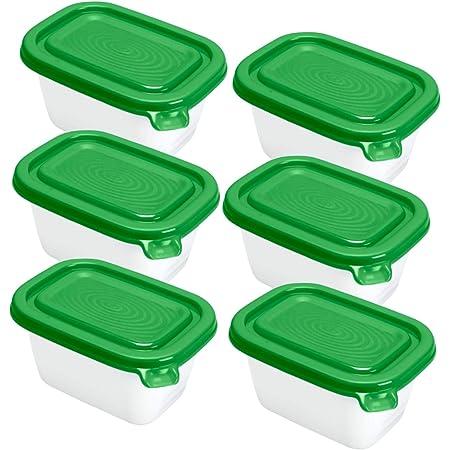 Rotho Freeze Set di 2 vasetti freezer 1.9l con coperchio Plastica PP senza BPA 2 x 1.9l 23.5 x 16.0 x 10.0 cm Transparente