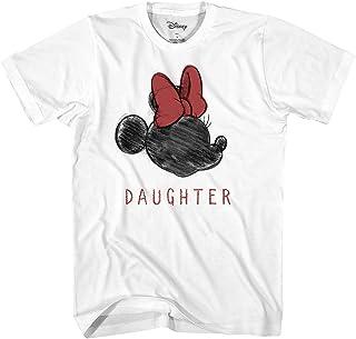 Disney Minnie Mouse Shirt Women's Minnie Sketch Daughter T-Shirt