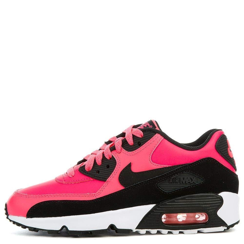 [ナイキ] AIR MAX 90 GS LTR Racer Pink Black White 833376-600
