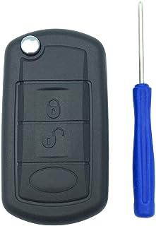 Ersatz Schlüsselgehäuse für Range Rover Sport Land Rover Discovery LR3 Klappschlüssel Schlüssel Schlüssel Schlüssel