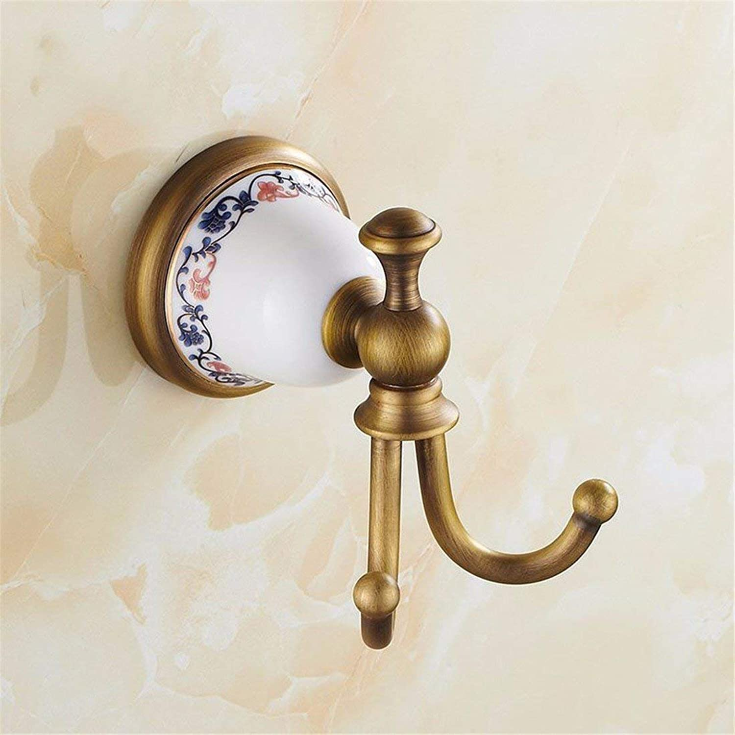 European Style of Copper of Full Base Archaize Dry-Towels,Accessories of Room of Ceramic a Hook to Clothing