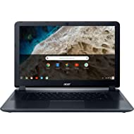 "2018 Acer 15.6"" HD WLED Chromebook with 3x Faster WiFi Laptop Computer, Intel Celeron Core N3060..."