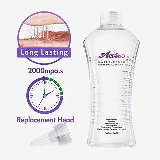 ACVIOO Gel Lubricante Intimo Lubricantes Sexuales Anales a Base de Agua 100% Natural Sin Fragancia - 300 ml