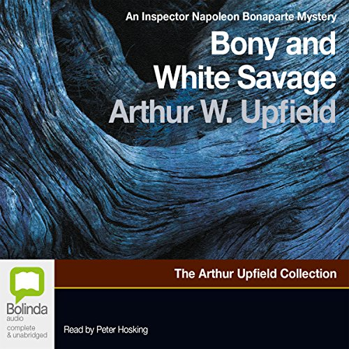 Bony and the White Savage audiobook cover art