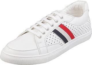Metro Men's White Sneakers-11 UK (45 EU) (71-9388)