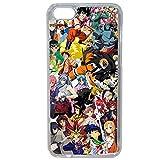 Générique Coque pour iPhone 7/7S Motif Manga One Piece Dragonball Naruto Ichigo Meddley