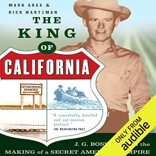 The King of California audiobook cover art