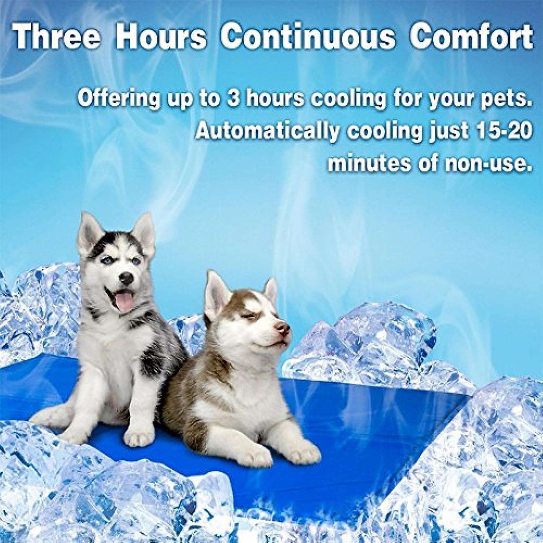 Aoile Comfortable ScratchResistant Pet Summer Sleeping Mat Cooling Pet Ice Mat Cat Dog Pad Cushion Pet Supplies by M