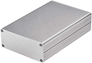 Eightwood Aluminum Project Box Electronic Enclosure Case for PCB Board DIY 4.32 x 2.82 x 1.13(LWH) Symmetrical Split Body ...