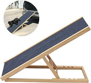 ペットステップ 車載用 ペットスロープ ペット階段 角度調節可能 犬用踏み台 車への乗降 滑り止め 車/ソファ/ベッド/玄関/ドライブ/庭に適用