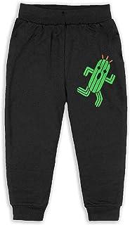 Easionerol Cactuar Child Long Sweatpants Jogger Trousers