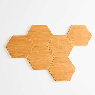 Esagoni in legno - piastrelle decorative