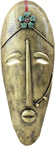 APKAMART Handicraft African Mask 20 Inch - Wall Showpiece for Wall Decor and Gifts